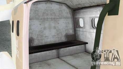 Savage GTA 5 для GTA San Andreas вид сзади
