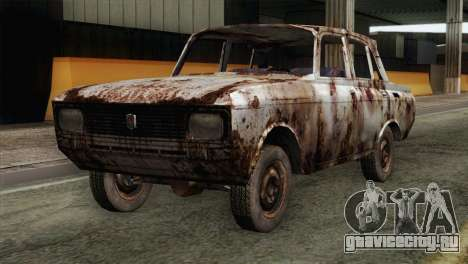 Russian Rustic Moskvitch для GTA San Andreas