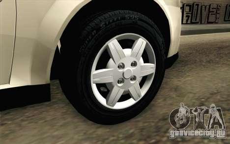 Chevrolet Classic для GTA San Andreas вид сзади слева