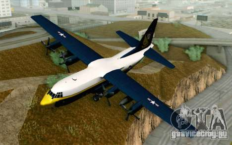 C-130H Hercules Blue Angels для GTA San Andreas