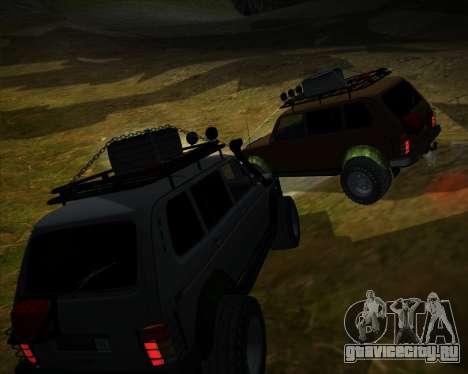ВАЗ 2131 Нива 5Д OffRoad для GTA San Andreas вид сбоку