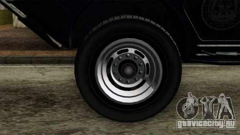 GTA 4 TBoGT Swatvan v2 для GTA San Andreas вид сзади слева