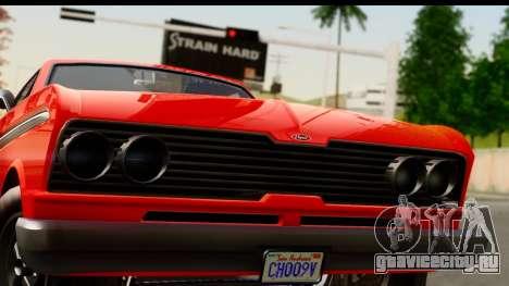 GTA 5 Vapid Blade v2 для GTA San Andreas вид сзади слева