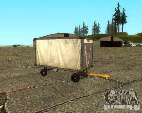 New Bagbox A для GTA San Andreas вид справа