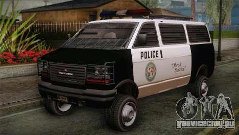 GTA 5 Police Transporter для GTA San Andreas