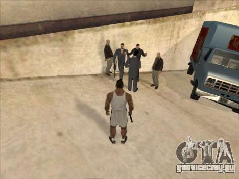 Русские в Торговом Квартале для GTA San Andreas второй скриншот