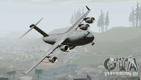 C-17A Globemaster III USAF March для GTA San Andreas