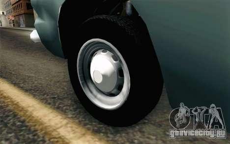 Renault Torino для GTA San Andreas вид сзади слева