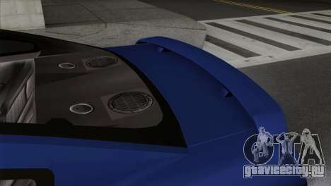 Ford Mustang GT PJ Wheels 1 для GTA San Andreas вид справа
