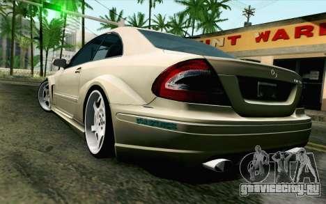 Mercedes-Benz CLK DTM 2004 для GTA San Andreas вид слева