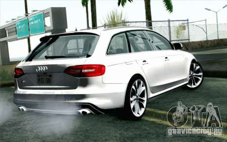 Audi S4 Avant 2013 для GTA San Andreas вид слева