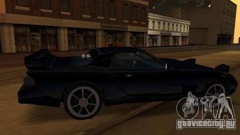 Beta ZR-350 Final для GTA San Andreas вид снизу
