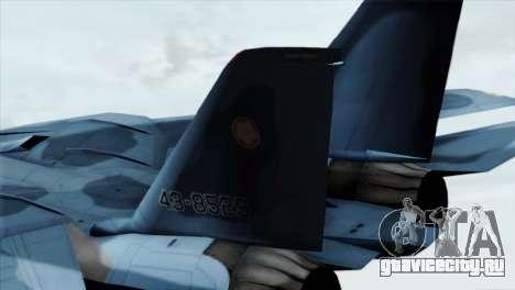 F-14 Japan Air Self Defense Force для GTA San Andreas вид сзади слева