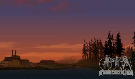 Realistic Timecyc v2.0 для GTA San Andreas третий скриншот