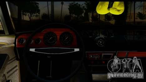 ВАЗ 2106 Low Classic для GTA San Andreas вид изнутри