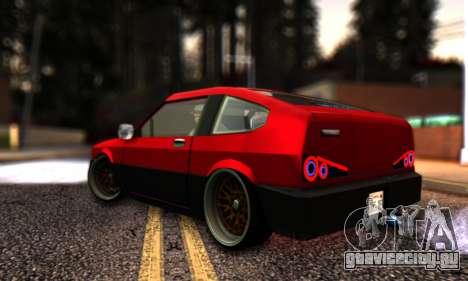 Blista Compact By VeroneProd для GTA San Andreas вид слева