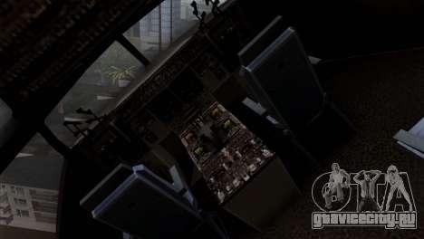 C-17A Globemaster III для GTA San Andreas вид сзади