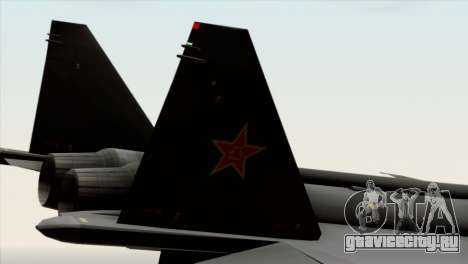 MIG 1.44 China Air Force для GTA San Andreas вид справа