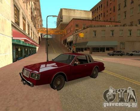 ENB for SAMP by MAKET для GTA San Andreas второй скриншот
