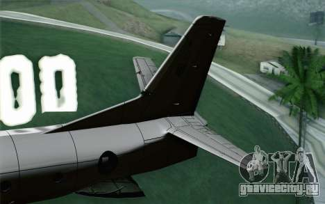 AN-32B Croatian Air Force Opened для GTA San Andreas вид сзади слева