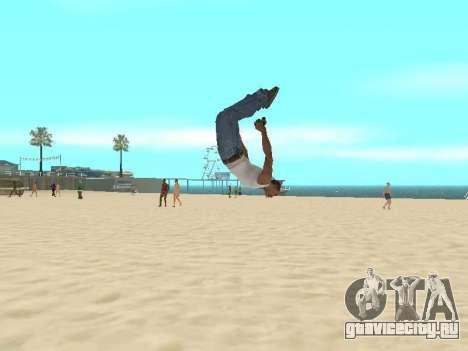 Паркур мод v2.0.4 для GTA San Andreas