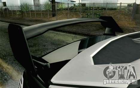 GTA 5 Karin Kuruma v2 Armored IVF для GTA San Andreas вид справа