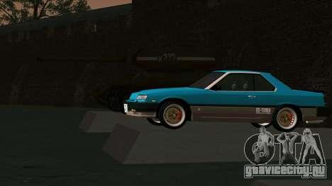 Nissan Skyline 2000 Turbo Intercooler RS-X kouki для GTA San Andreas вид сбоку