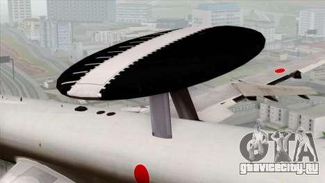 Boeing E-767 Japan Air Self-Defense Force EoJ для GTA San Andreas вид справа