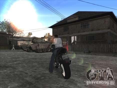 Личная машина CJ на Grove Street для GTA San Andreas пятый скриншот