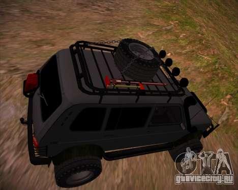 ВАЗ 2131 Нива 5Д OffRoad для GTA San Andreas двигатель