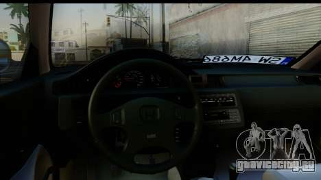 Honda Civic EG6 для GTA San Andreas вид сзади