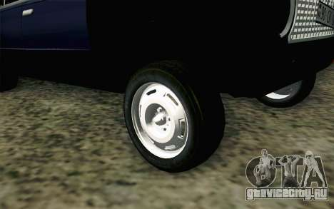 ВАЗ 21011 Бродяга для GTA San Andreas вид сзади слева