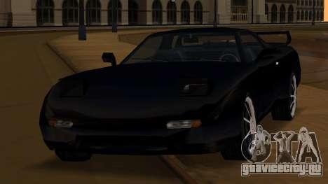 Beta ZR-350 Final для GTA San Andreas вид сверху
