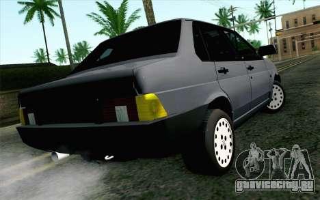 Fiat Regata для GTA San Andreas вид слева