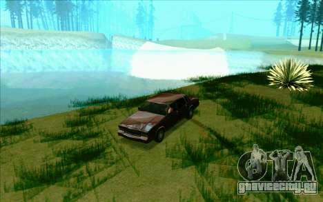 Tini ENB V2.0 Last для GTA San Andreas четвёртый скриншот