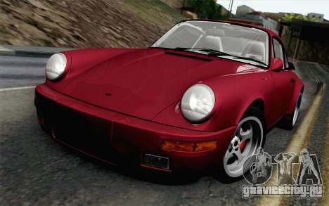 RUF CTR Yellowbird 1987 для GTA San Andreas