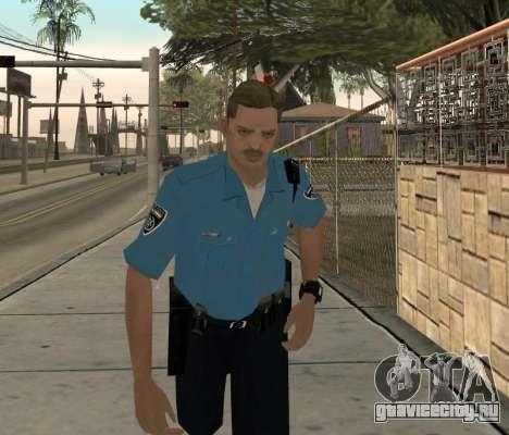 Israeli Police Officer для GTA San Andreas