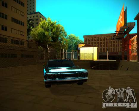 ENB GreenSeries для GTA San Andreas восьмой скриншот