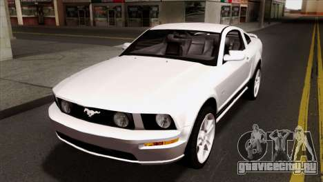 Ford Mustang GT PJ Wheels 1 для GTA San Andreas вид изнутри