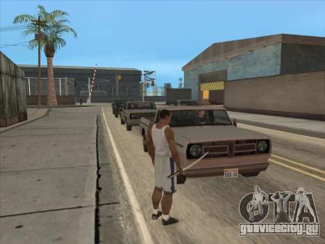 Русские в Торговом Квартале для GTA San Andreas третий скриншот