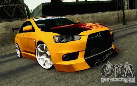 Mitsubishi Lancer Evolution X v2 для GTA San Andreas