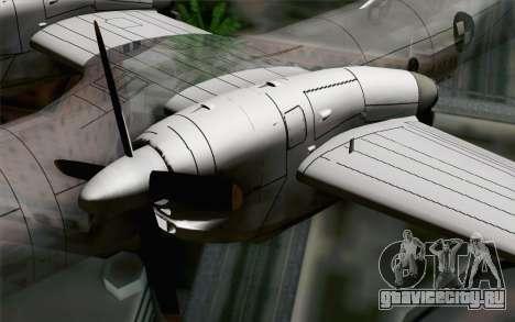 AN-32B Croatian Air Force Closed для GTA San Andreas вид справа