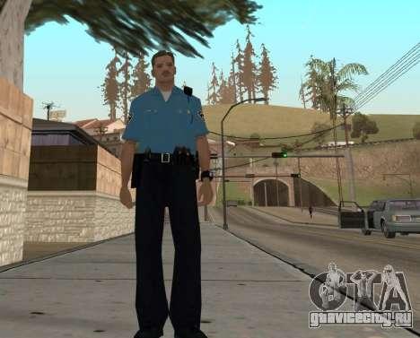 Israeli Police Officer для GTA San Andreas шестой скриншот