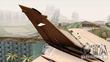 Tornado MIG Eater для GTA San Andreas вид сзади слева