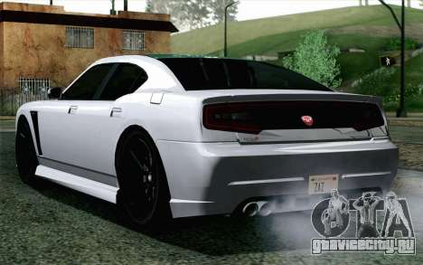 GTA 5 Bravado Buffalo S v2 для GTA San Andreas вид слева
