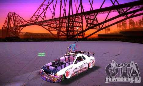 ANCG ENB v2 для GTA San Andreas восьмой скриншот