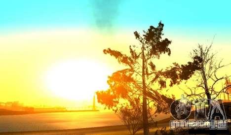 Realistic Timecyc v2.0 для GTA San Andreas второй скриншот