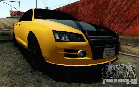 GTA 5 Karin Kuruma v2 IVF для GTA San Andreas