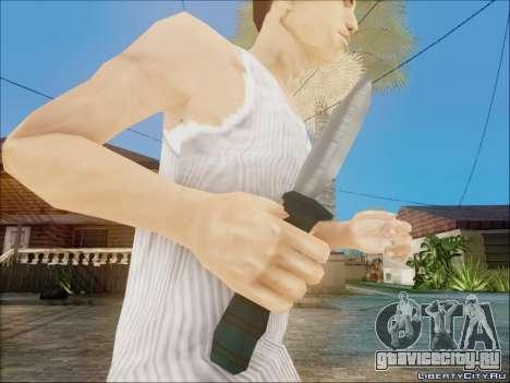 Новый нож для GTA San Andreas третий скриншот