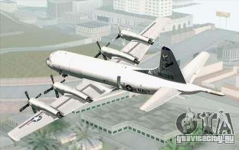 Lockheed P-3 Orion VP-11 US Navy для GTA San Andreas вид слева
